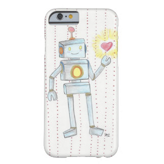 Het capricieuze Hart Robot iPhone6 van de Empathie Barely There iPhone 6 Hoesje