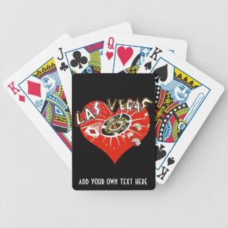 Het Casino die van Las Vegas de Rode Speelkaarten Bicycle Speelkaarten
