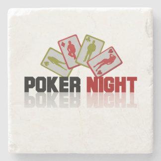 Het Casino van de pook Stenen Onderzetter
