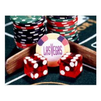 Het Casino van Las Vegas Briefkaart