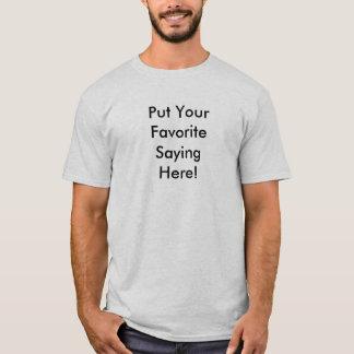 Het casual Overhemd van de Nacht - Douane T Shirt