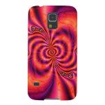 Het cellulaire Spiraalvormige Geval van de Samenha Galaxy S5 Beschermhoezen