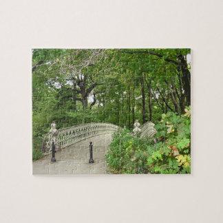 Het Central Park van de Brug van de boog Foto Puzzels