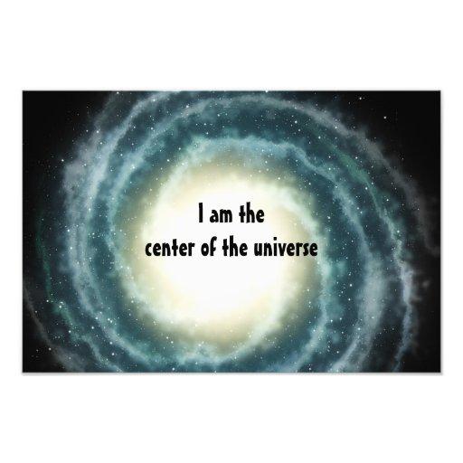 Het Centrum van de kosmische ruimte van het Heelal Foto Kunst
