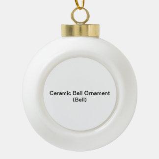 Het ceramische Ornament van de Bal (Klok) Keramische Bal Ornament