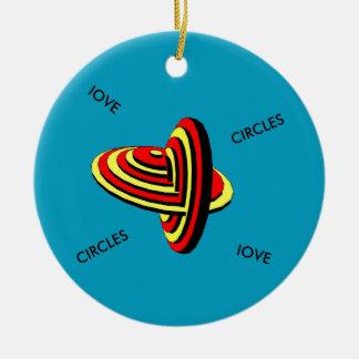 Het ceramische Ornament van de Cirkel