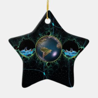 Het Ceramische Ornament van de Planeet van de