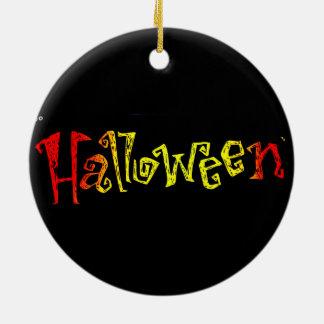 Het Ceramische Ornament van Halloween