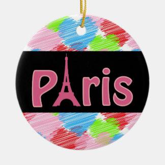 Het Ceramische Ornament van Parijs van de liefde