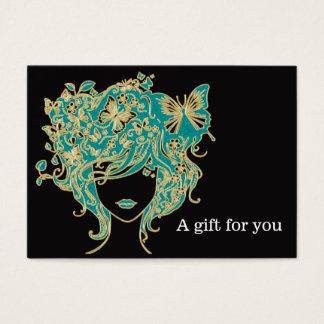 Het Certificaat van de Gift van de salon Visitekaartjes