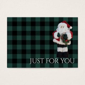 Het Certificaat van de Gift van Kerstmis van de Visitekaartjes