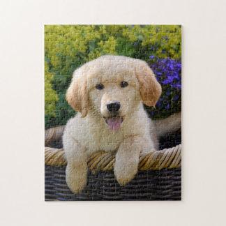 Het charmante Spel 11x14 van het Puppy van de Hond Legpuzzel