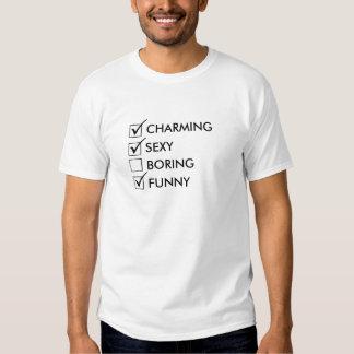 Het charmeren, Sexy en Grappig T Shirts