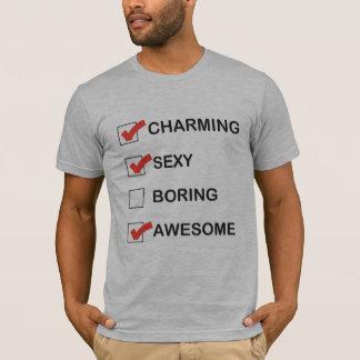 Het charmeren t shirt