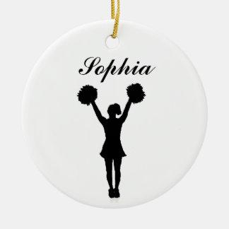 Het Cheerleader Gepersonaliseerde Ornament van