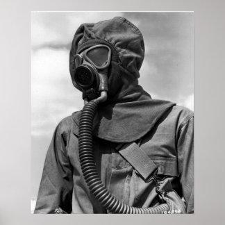Het Chemische Kostuum van WO.II Poster
