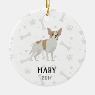 Het Chihuahua Gepersonaliseerde Ornament van