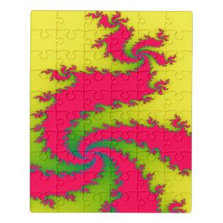 Het Chinese AcrylRaadsel van de Draak van het