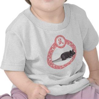 Het Chinese Dier van de Dierenriem - Rat T Shirt