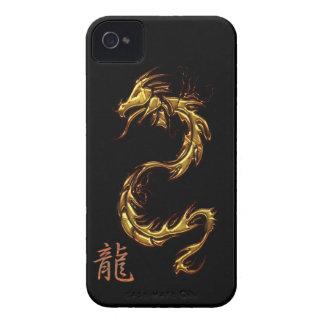 Het Chinese Hoesje van Blackberry van de Draak van