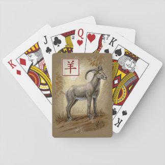 Het Chinese Jaar van de Dierenriem Speelkaarten