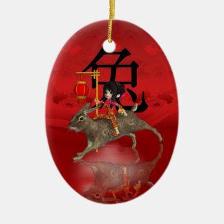 Het Chinese Ornament van het Nieuwjaar, Nieuwjaar