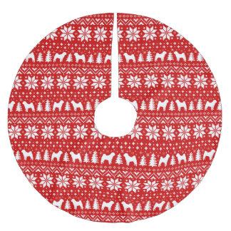 Het Chinese Patroon van Kerstmis van de Kerstboom Rok