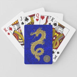 Het Chinese Symbool van de Draak Speelkaarten