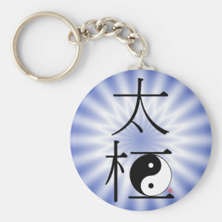 Het Chinese Tai Licht van Ying Yang van de Chi Sleutelhanger