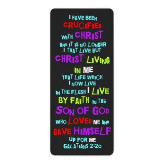 Het Christelijke die Kruis van het Bladwijzer met Kaart
