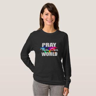 Het Christelijke Gebed van de Wereld van het T Shirt