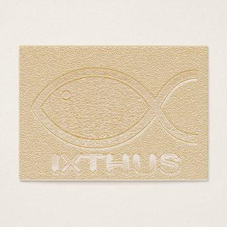 Het Christelijke Symbool van Vissen IXTHUS - de Visitekaartjes