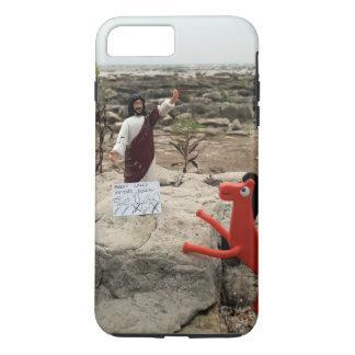 Het Cijfer Jesus Visits van de actie de Grote iPhone 7 Plus Hoesje