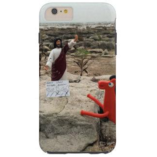 Het Cijfer Jesus Visits van de actie de Grote Tough iPhone 6 Plus Hoesje