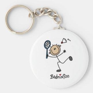 Het Cijfer van de Stok van het badminton Sleutel Hanger