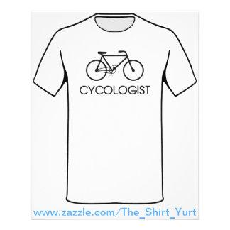 Het Cirkelen van Cycologist Cyclus Flyer 11,4 X 14,2 Cm