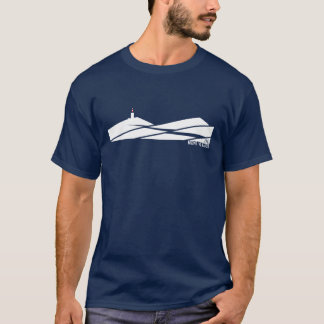 Het Cirkelen van Ventoux van Mont T Shirt