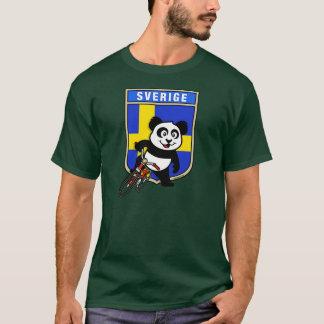 Het Cirkelen van Zweden Panda T Shirt
