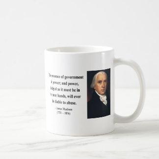 Het Citaat 5b van James Madison Koffiemok