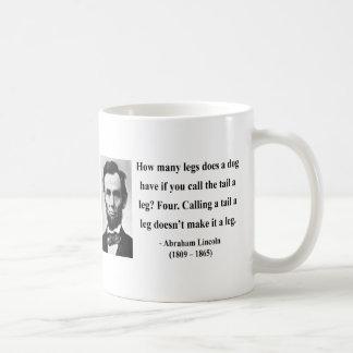 Het Citaat van Abraham Lincoln 13b Koffiemok