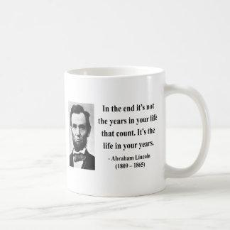 Het Citaat van Abraham Lincoln 2b Koffiemok