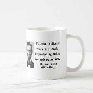 Het Citaat van Abraham Lincoln 8b Koffiemok