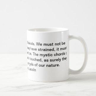 Het citaat van Abraham Lincoln Koffiemok