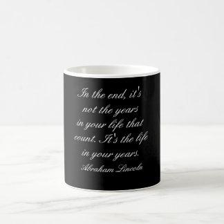 Het citaat van Abraham Lincoln - mok