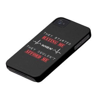 Het Citaat van de houding op iPhone 4, nauwelijks iPhone 4 Hoesje