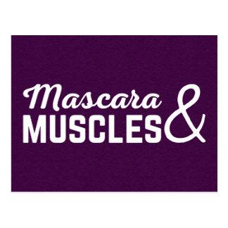 Het Citaat van de mascara & van de Gymnastiek van Briefkaart