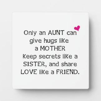 Het Citaat van de tante Fotoplaat