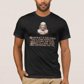 Het Citaat van Franklin van Ben: 2 wolven & een T Shirt