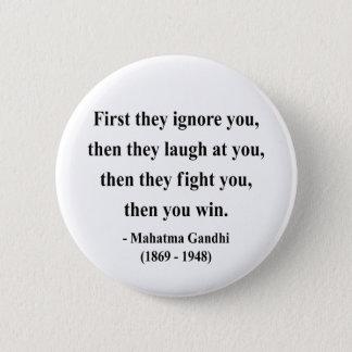 Het Citaat van Gandhi 5a Ronde Button 5,7 Cm