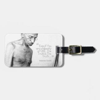 Het Citaat van Gandhi van Mahatma, Minderheid van Kofferlabels